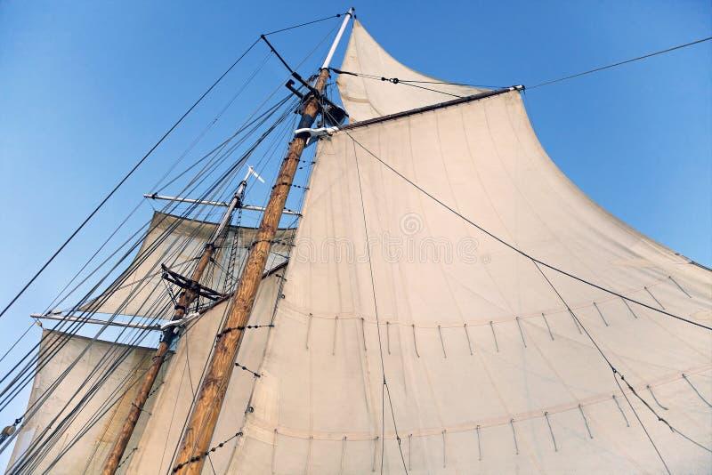 Mât d'un bateau grand image libre de droits