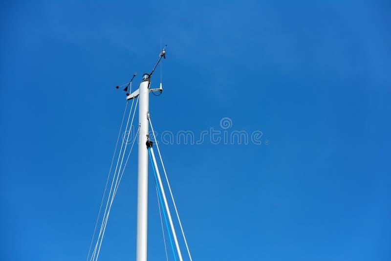 Mât de voilier photo libre de droits