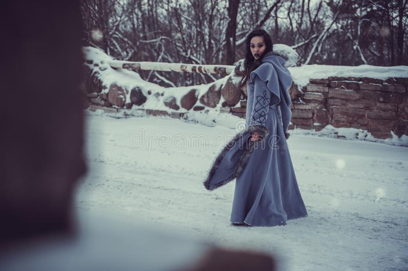 Märchen der jungen Frau stockbilder