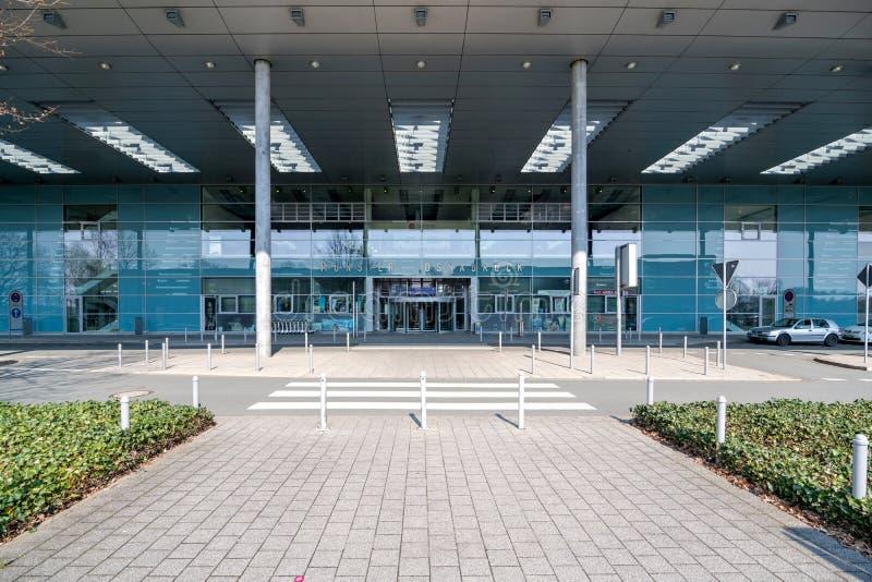 Mà ¼ nster Osnabrà ¼ ck国际机场 库存照片