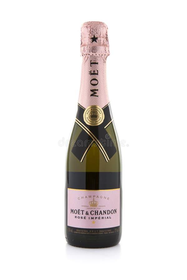 Möet Champagne immagini stock