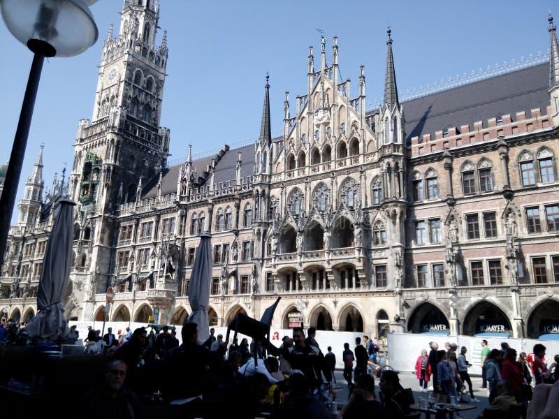 MÃ ¼ nchen, Beieren, Duitsland royalty-vrije stock foto's