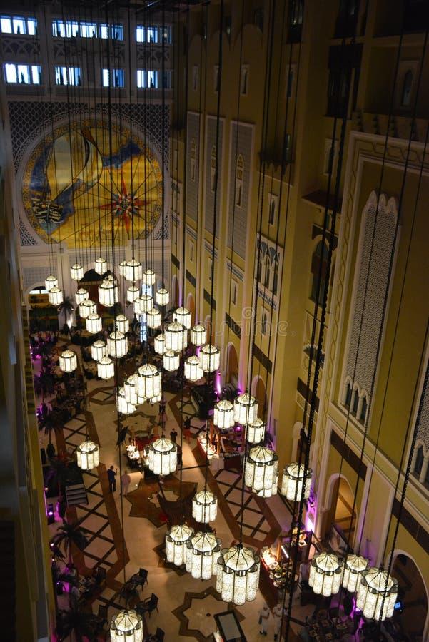 Mövenpick Ibn Battuta bramy hotel Dubaj zdjęcie stock