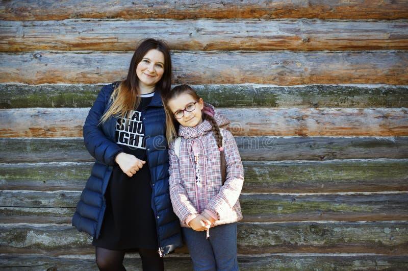 Mãe com filha imagens de stock royalty free