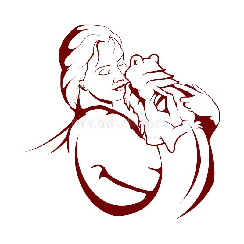 Mãe da ilustração dos dragões Jogo dos tronos ilustração royalty free