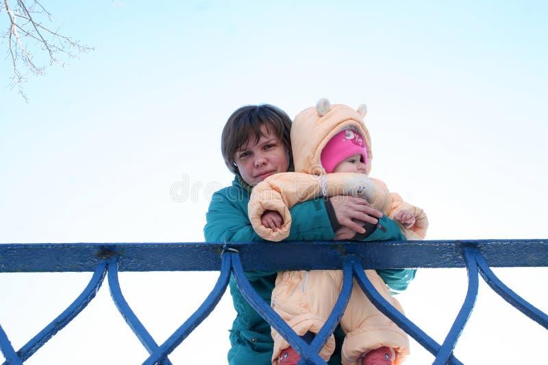 Mãe e criança imagens de stock