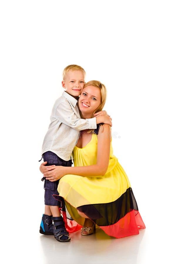 Mãe e criança fotografia de stock