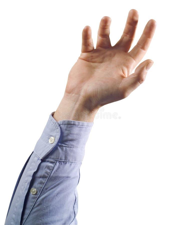 Mão 2 fotografia de stock