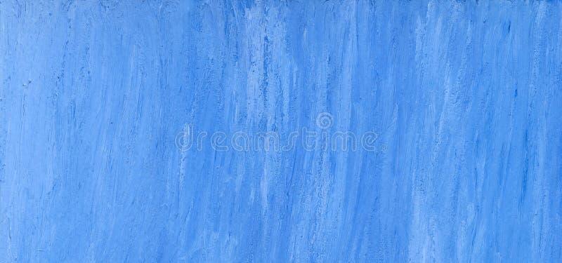 Mão azul fundo de papel pintado ilustração stock
