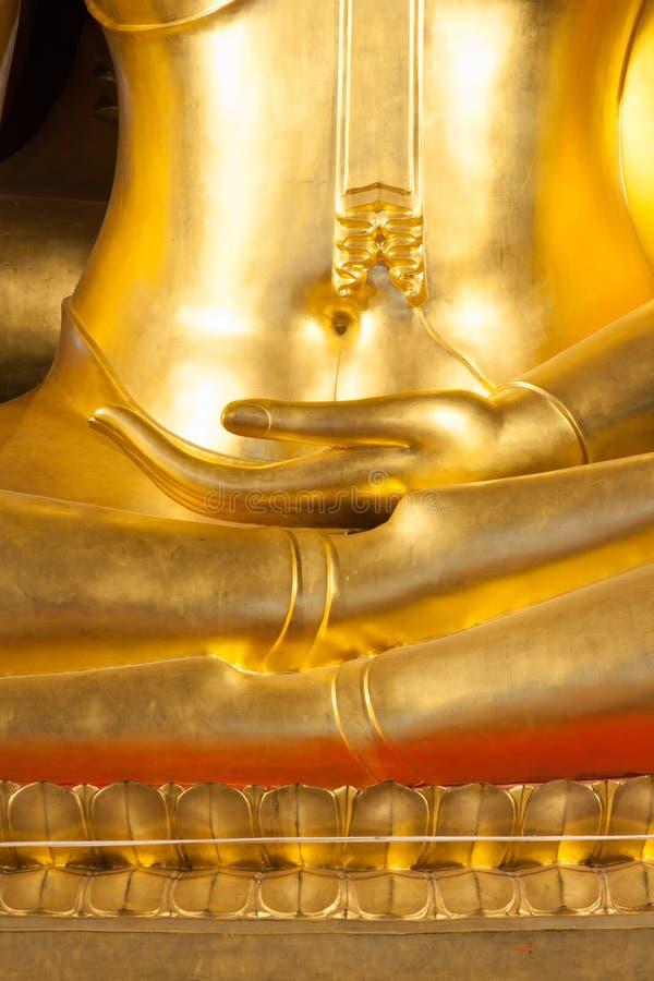 Mão budista da estátua fotos de stock royalty free