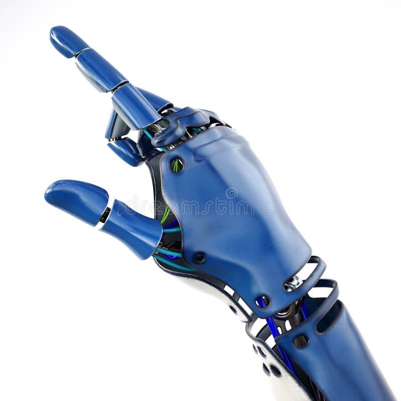 Mão Cybernetic ilustração stock