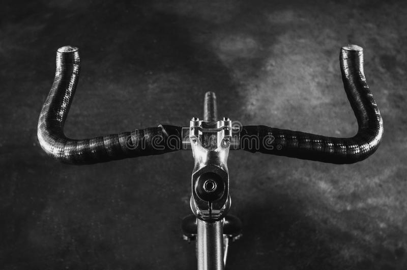 Mão da bicicleta do chifre de Bull imagens de stock royalty free