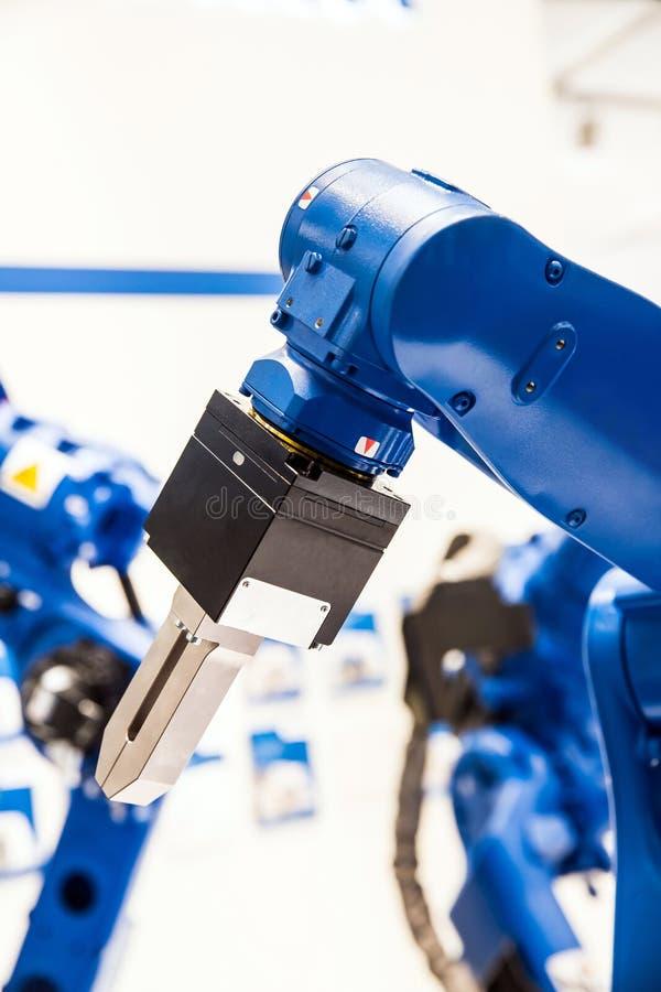 Mão de braço do robô fotos de stock
