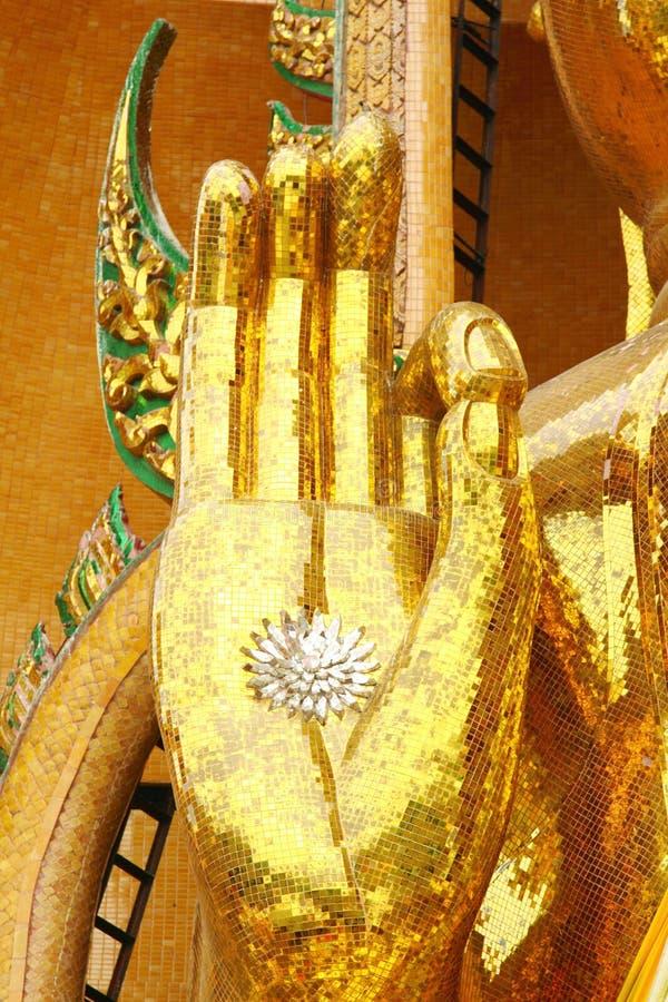 Mão de Buddha foto de stock royalty free