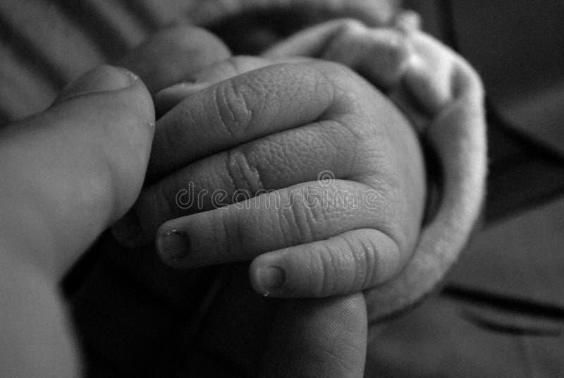 Mão de uma criança fotos de stock