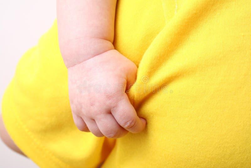 Mão do bebê fotografia de stock royalty free