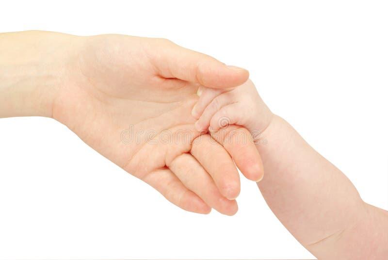 Mão do bebê fotos de stock