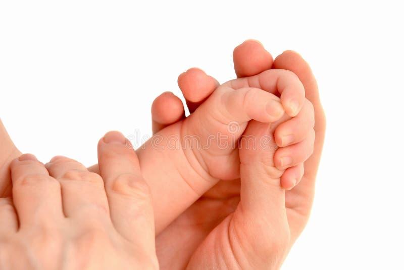 Mão do bebê fotos de stock royalty free