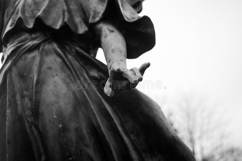 Mão do céu fotografia de stock