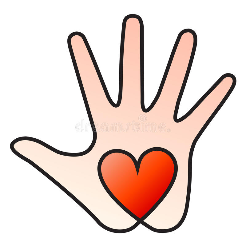 Mão do coração