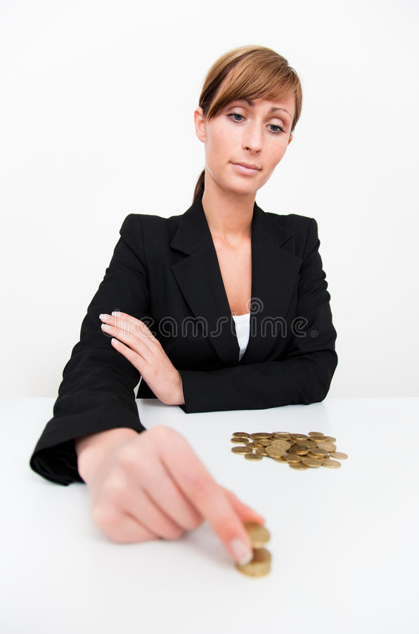 Mão do dinheiro fotografia de stock royalty free