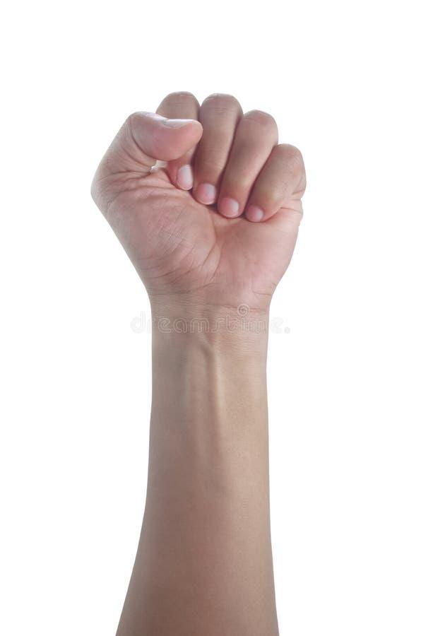 Mão do homem fotos de stock royalty free