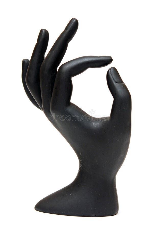 Mão do Mannequin imagens de stock royalty free