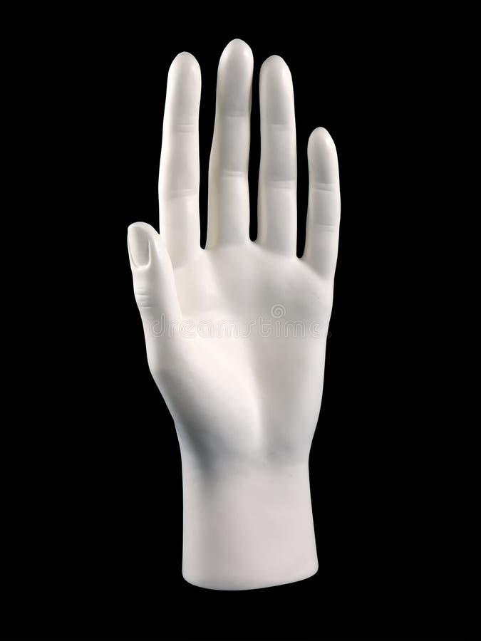 Mão do Mannequin imagem de stock royalty free