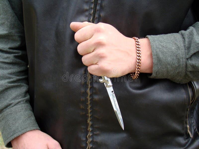 Mão do punk imagem de stock