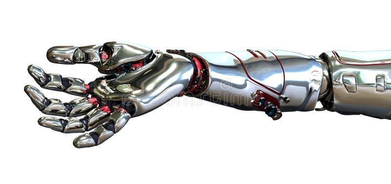 Mão do robô ilustração stock