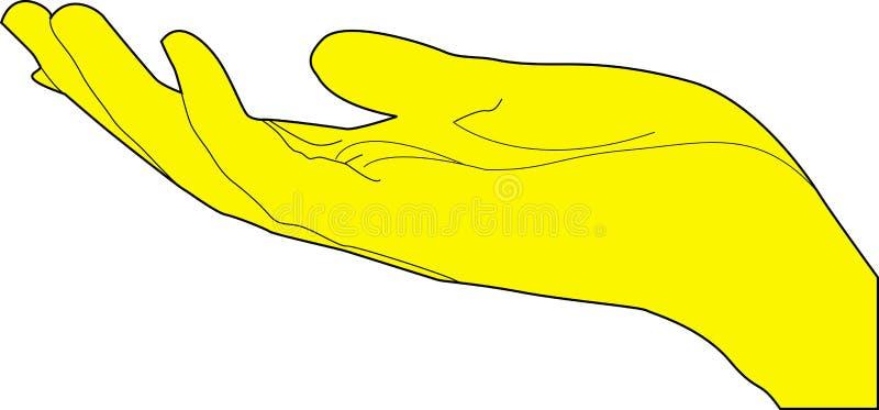 Mão humana fotos de stock royalty free