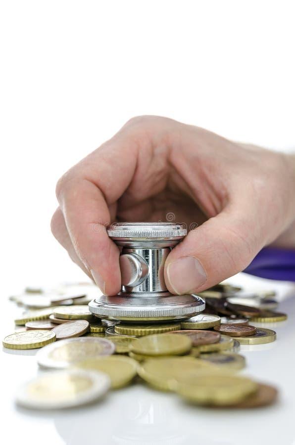 Conceito da recuperação da crise económica imagem de stock royalty free