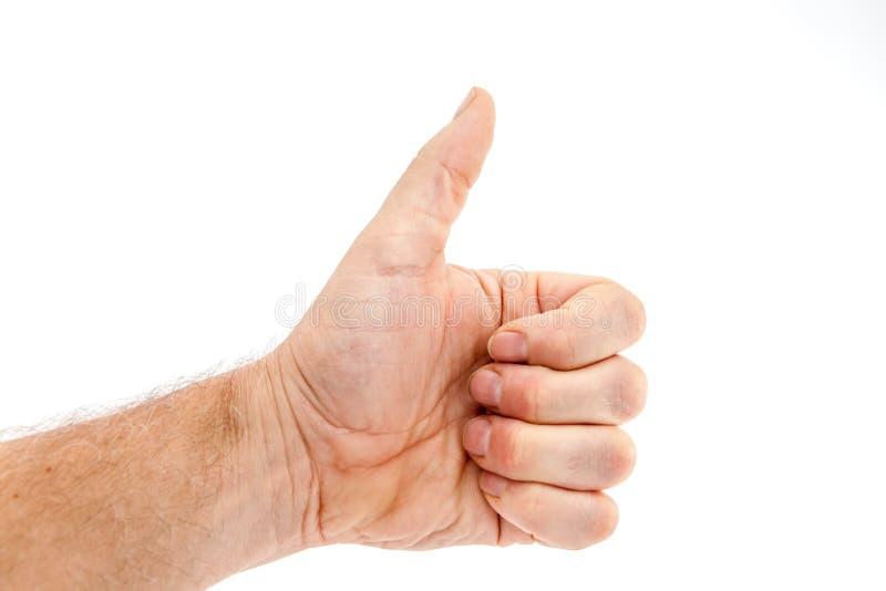 Mão no ar imagem de stock royalty free