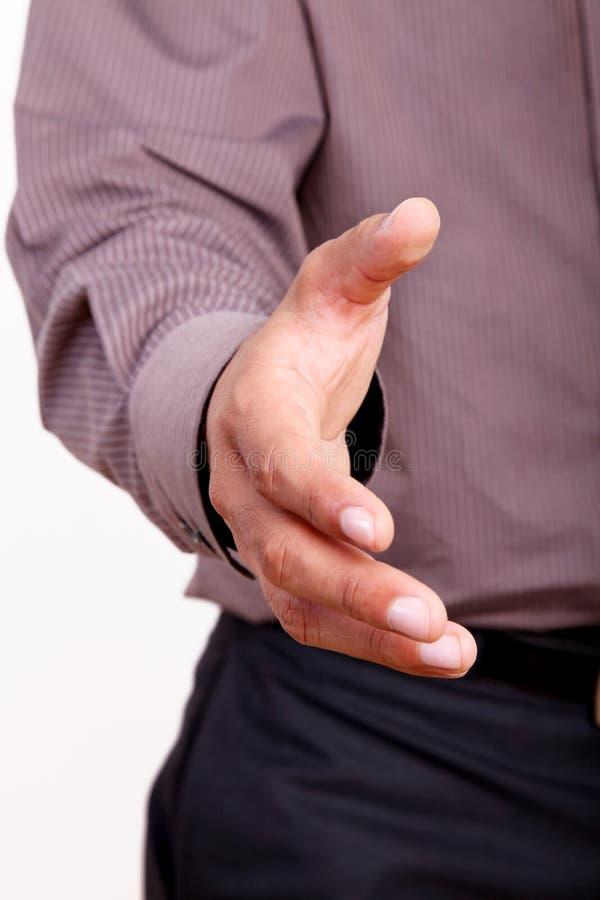 Mão Outstretched imagem de stock royalty free