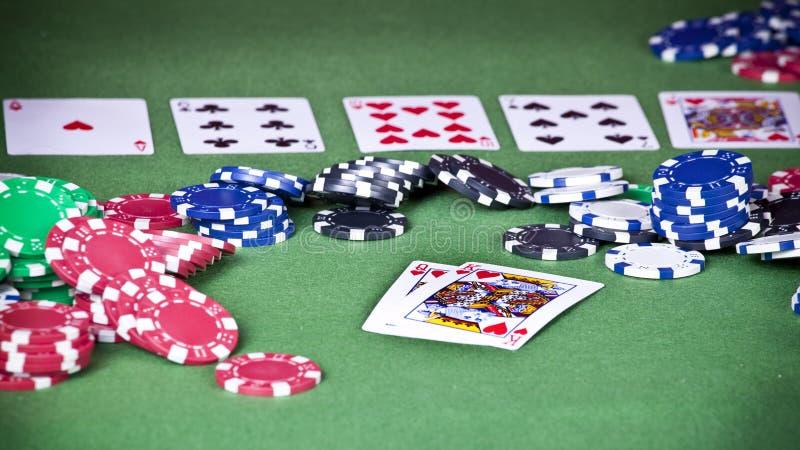 Download Mão proeminente do pocker foto de stock. Imagem de jackpot - 12806660