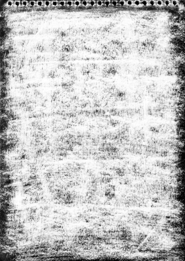 Mão - textura feita da grafita e do lápis ilustração do vetor