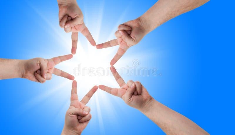 Download Mãos imagem de stock. Imagem de mão, humano, dedo, christmas - 12810157