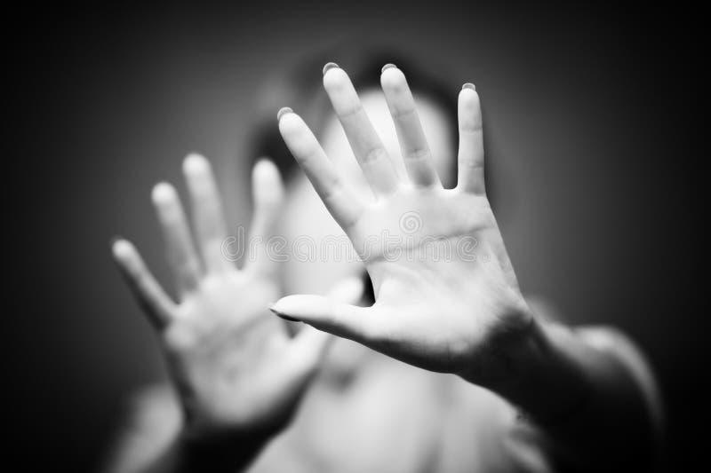 Mãos da mulher foto de stock royalty free