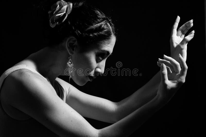 Mãos do dançarino fotos de stock