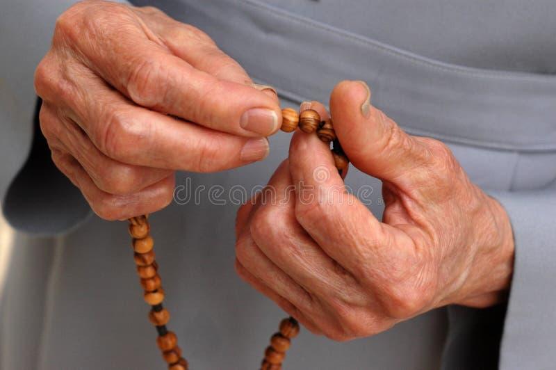 Mãos do Grace (2) foto de stock