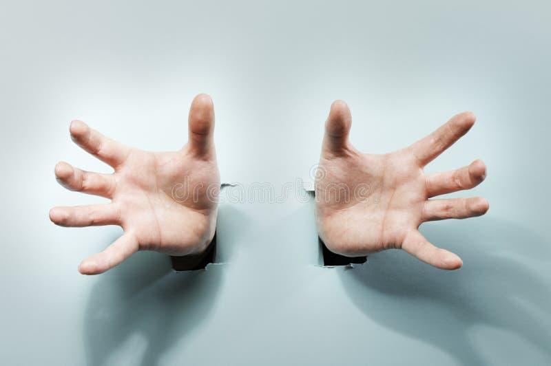 Mãos estranhas imagem de stock royalty free