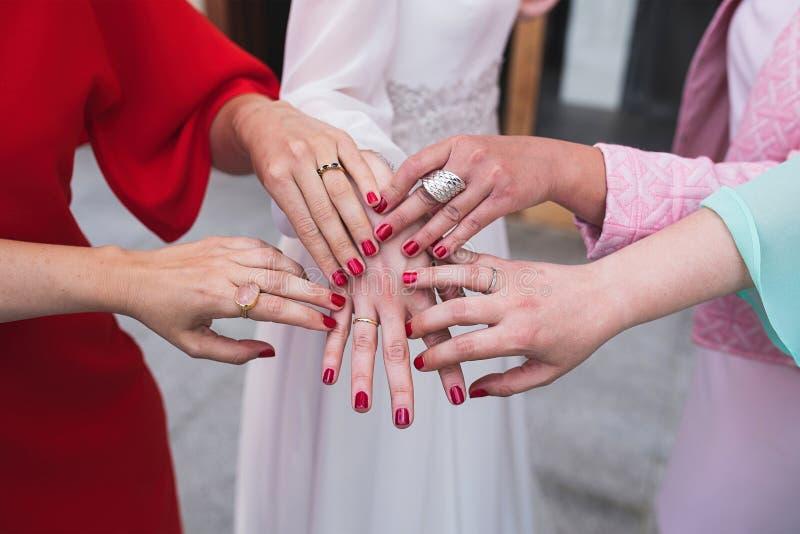 Mãos fêmeas fotos de stock royalty free