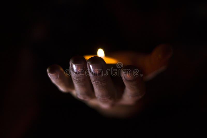 Mãos sobrenaturais foto de stock royalty free