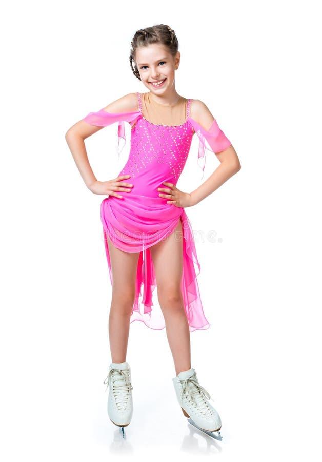 Mädchen auf Rochen lizenzfreies stockbild