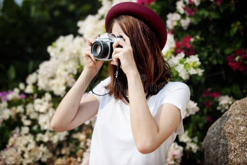 Freie Mädchenkamera zur Kamera