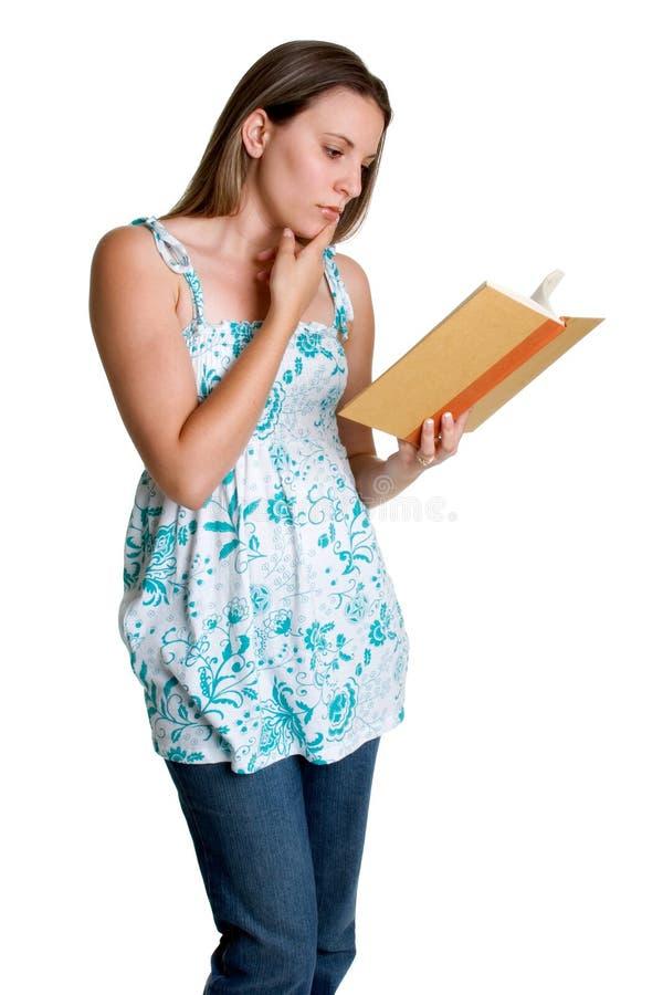 Mädchen-Lesebuch stockbilder