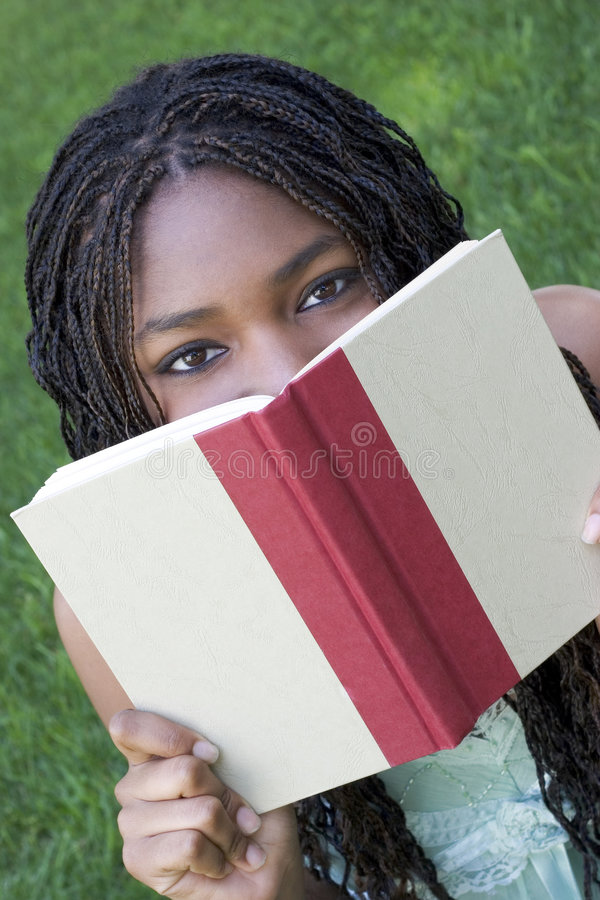 Mädchen-Messwert lizenzfreies stockfoto
