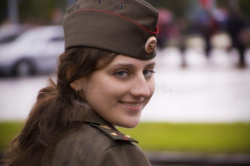 Mädchen policement lizenzfreie stockfotos