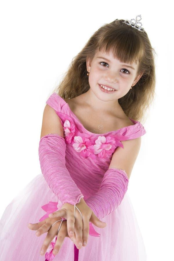 Mädchen-Prinzessin. lizenzfreie stockfotografie