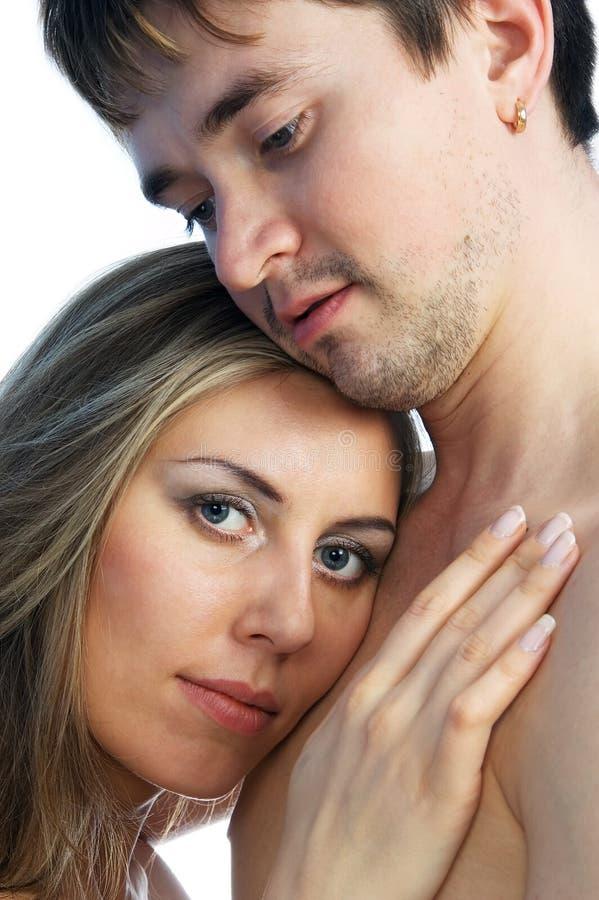 Mädchen Und Mann Zusammen 1 Kostenlose Stockfotografie